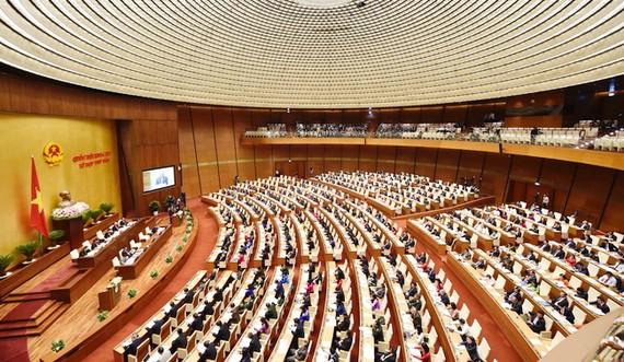 Từ ngày 4-6 đến hết ngày 6-6, Quốc hội sẽ tiến hành phiên chất vấn và trả lời chất vấn gồm 4 bộ trưởng. Ảnh: VGP