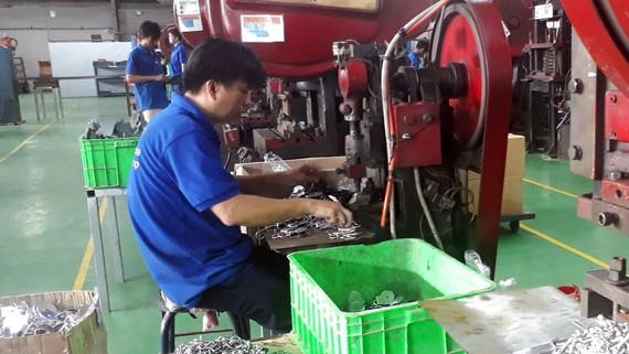 Phân ngành sản xuất sản phẩm từ kim loại đúc sẵn (ngành cơ khí) tăng trưởng mạnh