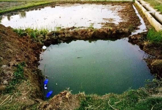 Hiện trường vụ đuối nước thương tâm