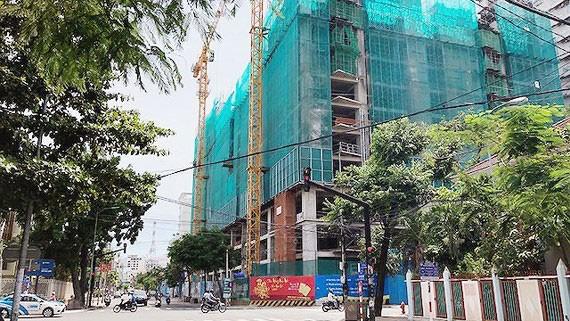 """""""Đất vàng"""" Trường Chính trị Khánh Hòa đã được xây khách sạn"""