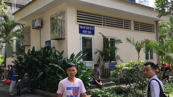 Trung tâm xử lý nước thải Bệnh viện Chợ Rẫy. Ảnh: Thành Trí