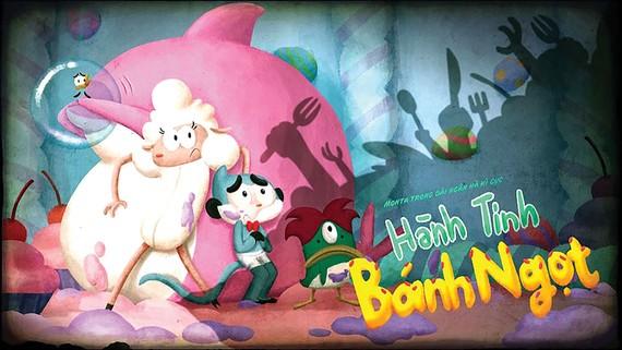 """Vintata công chiếu series hoạt hình """"Monta trong dải ngân hà kỳ cục"""""""