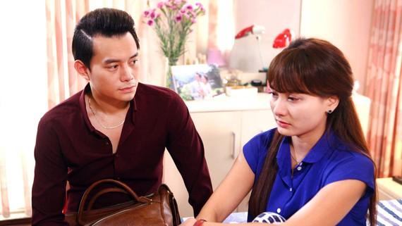 Cảnh trong phim Sống chung với mẹ chồng, bộ phim khơi lại những mâu thuẫn tiêu biểu trong đời sống gia đình