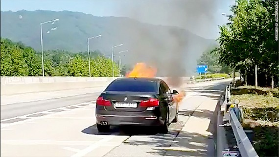 Hàn Quốc cấm sử dụng hàng ngàn xe BMW