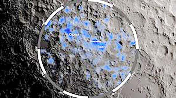NASA khai thác nước trên Mặt trăng
