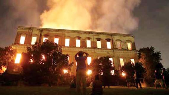 Cháy viện bảo tàng, 700 cổ vật Ai Cập bị hư hại