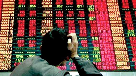 """Chứng khoán Thượng Hải """"đỏ sàn"""" do ảnh hưởng của chiến tranh thương mại Mỹ - Trung"""