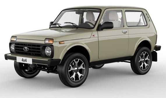 Lada Niva bản đặc biệt không có nhiều khác biệt về ngoại thất