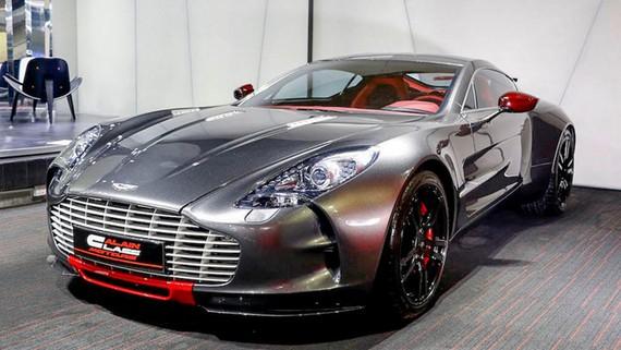 Siêu phẩm Aston Martin One 77 Q-Series giá từ 3 triệu USD