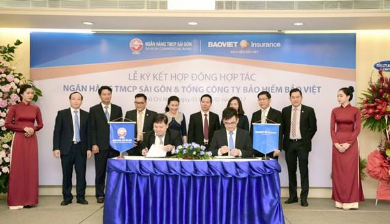 SCB hợp tác Bảo Việt