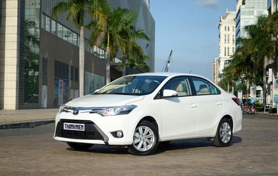 Toyota Vios dẫn đầu danh sách xe bán chạy nhất VN trong 6 tháng đầu năm 2017