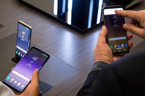 Kích thước màn hình loạt Galaxy S9 sẽ tương tự Galaxy S8 hiện tại.