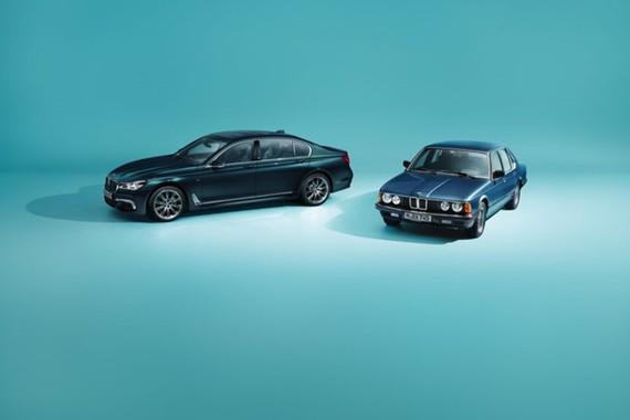 BMW ra mắt phiên bản đặc biệt kỷ niệm 40 năm ra đời 7-series