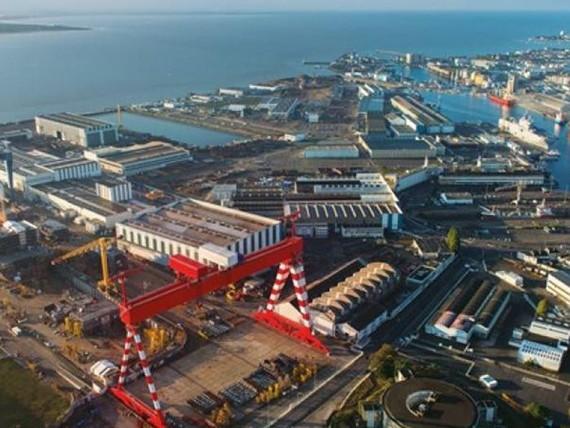 Pháp-Italia căng thẳng vì nhà máy đóng tàu