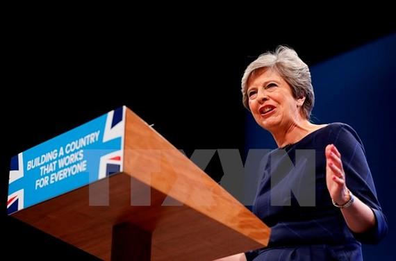 Thủ tướng Anh Theresa May. (Nguồn: THX/TTXVN)
