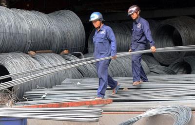 Lượng nhập khẩu sắt thép các loại trong 4 tháng đầu năm 2017 ước gần 5,8 triệu tấn