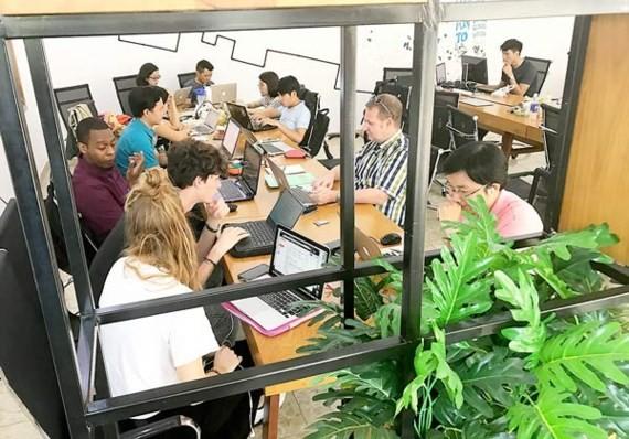 Các startup đang làm việc tại Saigon Innovation Hub (SIHUB) thuộc Sở KH-CN TPHCM