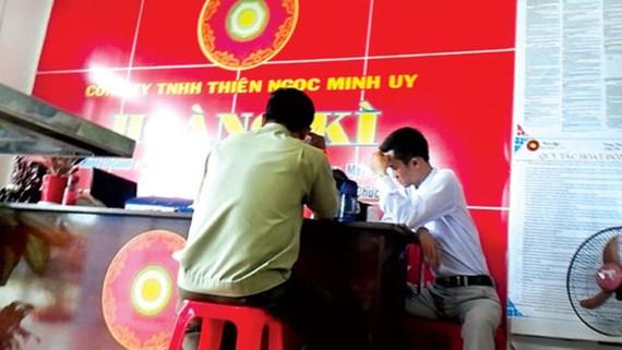 Hồ sơ Công ty Thiên Ngọc Minh Uy đã được chuyển cho Bộ Công an