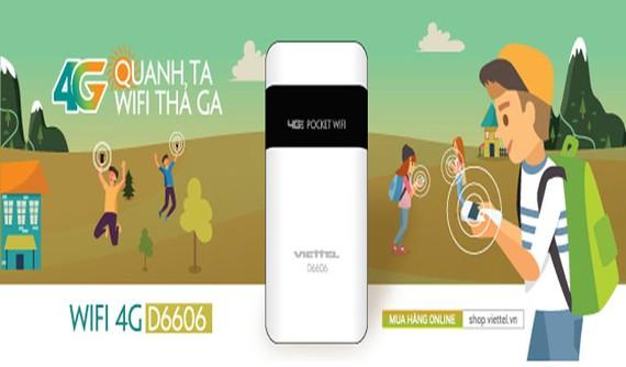 Bộ phát wifi siêu tốc độ của Viettel