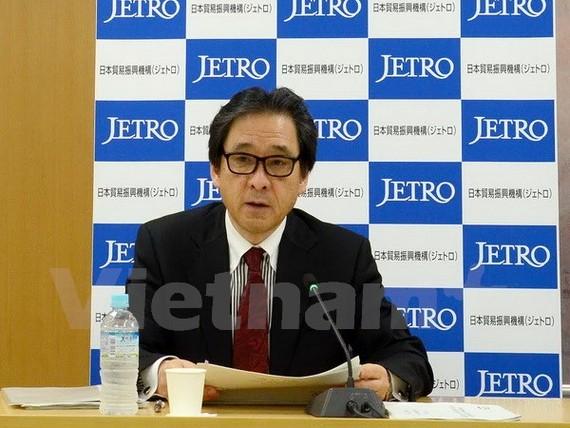Chủ tịch Tổ chức xúc tiến mậu dịch Nhật Bản (JETRO), ông Hiroyuki Ishige.