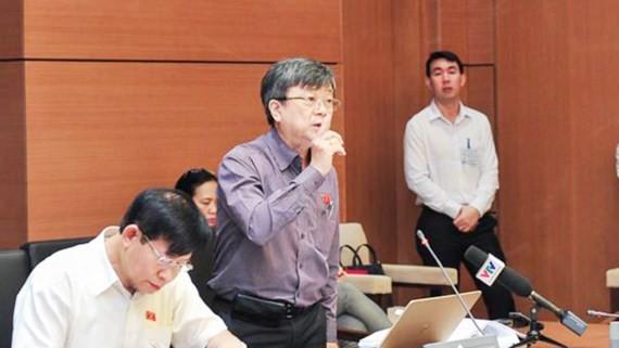 Đại biểu Quốc hội Trương Trọng Nghĩa phát biểu tại Hội nghị góp ý sửa đổi Bộ luật hình sự