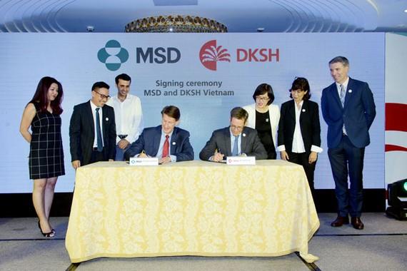DKSH hỗ trợ MSD phát triển kinh doanh tại Việt nam
