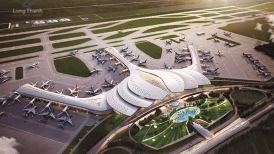 Một trong những đồ án thiết kế Nhà ga hành khách Cảng HKQT Long Thành.
