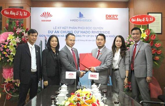 Danh Khôi Việt phân phối độc quyền Hà Đô Riverside