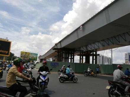 Cầu vượt tại vòng xoay Nguyễn Thái Sơn - Nguyễn Kiệm (nhánh Hoàng Minh Giám – Nguyễn Thái Sơn) sẽ được đưa vào sử dụng từ ngày 3.7
