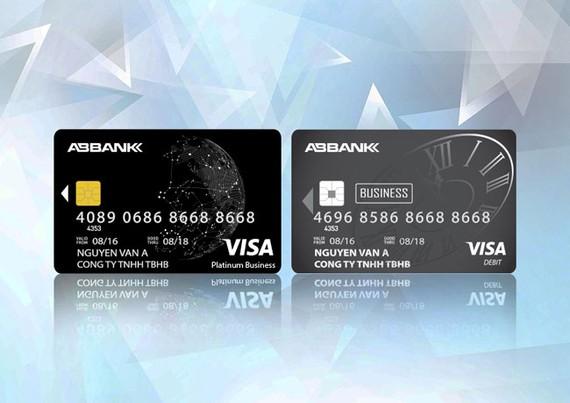 ABBank phát hành thẻ quốc tế DN hạn mức 5 tỷ đồng