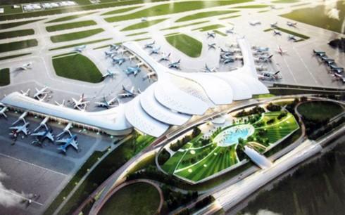 Phối cảnh sân bay Long Thành.
