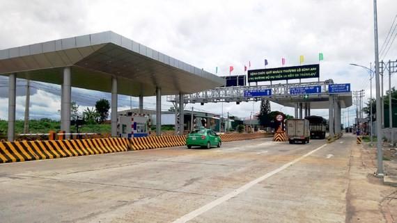 Trạm thu phí BOT của Cico 501 đặt tại huyện Ea Kar