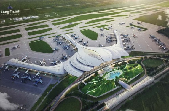 Thiết kế sân bay Long Thành theo hình cách điệu hoa sen