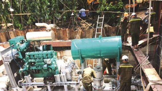 Hệ thống bơm thông minh chống ngập đường Nguyễn Hữu Cảnh