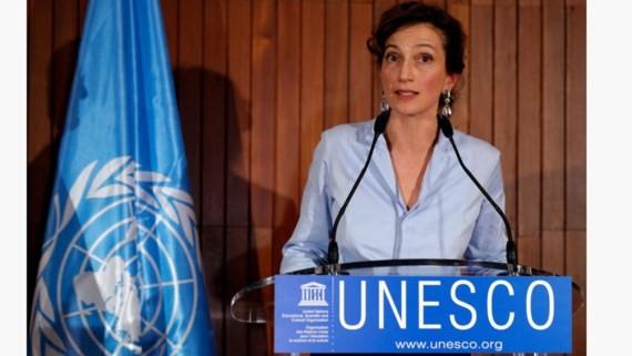 Bà Audrey Azoulay được bầu làm Tổng Giám đốc UNESCO. Ảnh: Reuters