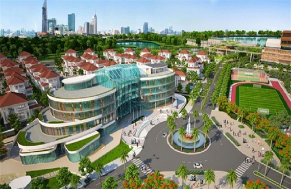Phối cảnh dự án Khu phức hợp Trung tâm Hội nghị triển lãm.