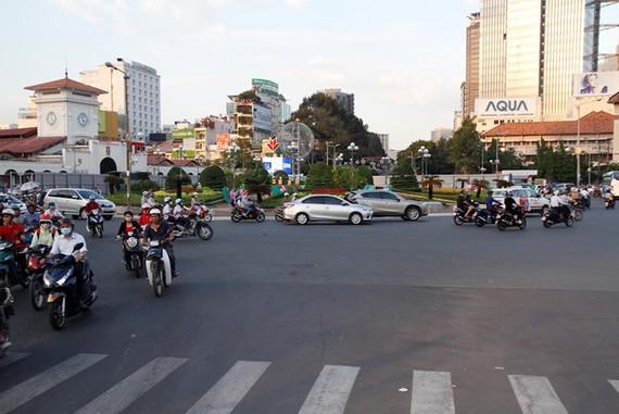Cấm xe lưu thông khu vực trung tâm TPHCM ngày 4-11