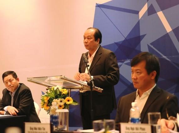 Bộ trưởng, Chủ nhiệm VPCP Mai Tiến Dũng phát biểu khai mạc Hội nghị. Ảnh: VGP/Phương Hiền