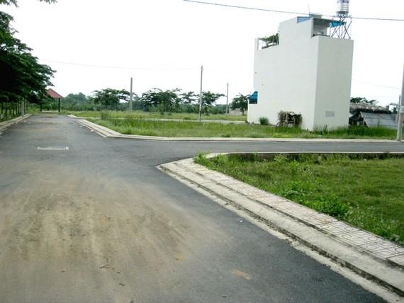 Một dự án đất nền tại quận 9 đang được chào bán.