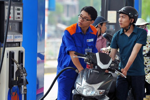 Giá dầu tăng nhẹ, giá xăng không thay đổi