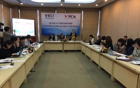 Hội thảo lấy ý kiến doanh nghiệp về Đề cương xây dựng Luật Quản lý thuế (sửa đổi).
