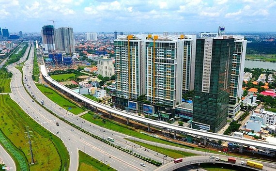 Metro số 1 nối dài kích bất động sản vùng ven