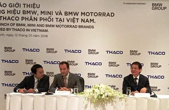 """Tập đoàn BMW """"bắt tay"""" với THACO"""