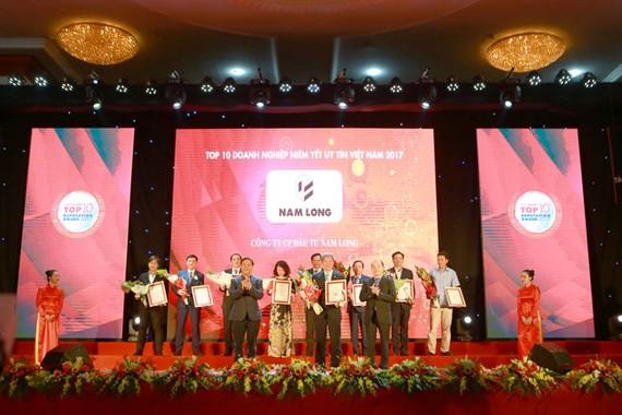 Nam Long đón nhận 2 giải thưởng