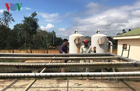 Hàng chục công trình cấp nước Đăk Lăk kém hiệu quả, ngừng hoạt động