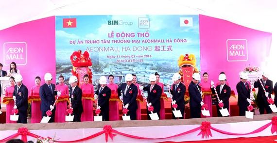 AEON Mall động thổ xây dựng TTTM thứ 5 tại Việt Nam