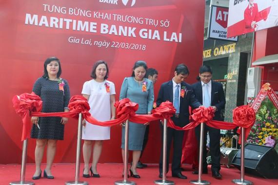 Maritime Bank khai trương phòng giao dịch tại tỉnh Gia Lai