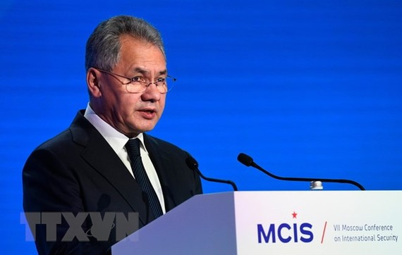 Bộ trưởng Quốc phòng Nga Sergei Shoigu. (Ảnh: AFP/TTXVN)