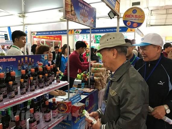 Hàng Việt đang chiếm ưu thế tại nhiều hệ thống bán lẻ nước ngoài tại Việt Nam. (Ảnh: Đức Duy/Vietnam+)