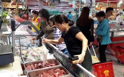 Sản phẩm hàng hóa tiếp cận các hệ thống phân phối nước ngoài là một cơ hội rất lớn cho các doanh nghiệp Việt Nam. (Ảnh minh họa)